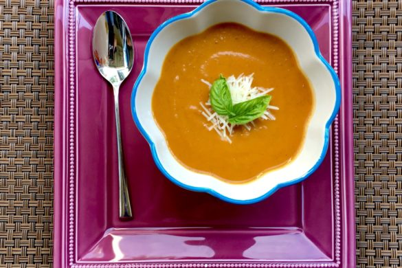 Roasted Pepper Soup | The Kitten Kitchen